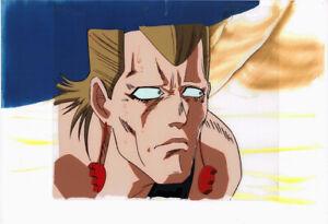 Jojo-039-s-Bizarre-Adventure-Anime-Cel-Douga-Polnareff-Close-up-Araki-1993-OVA