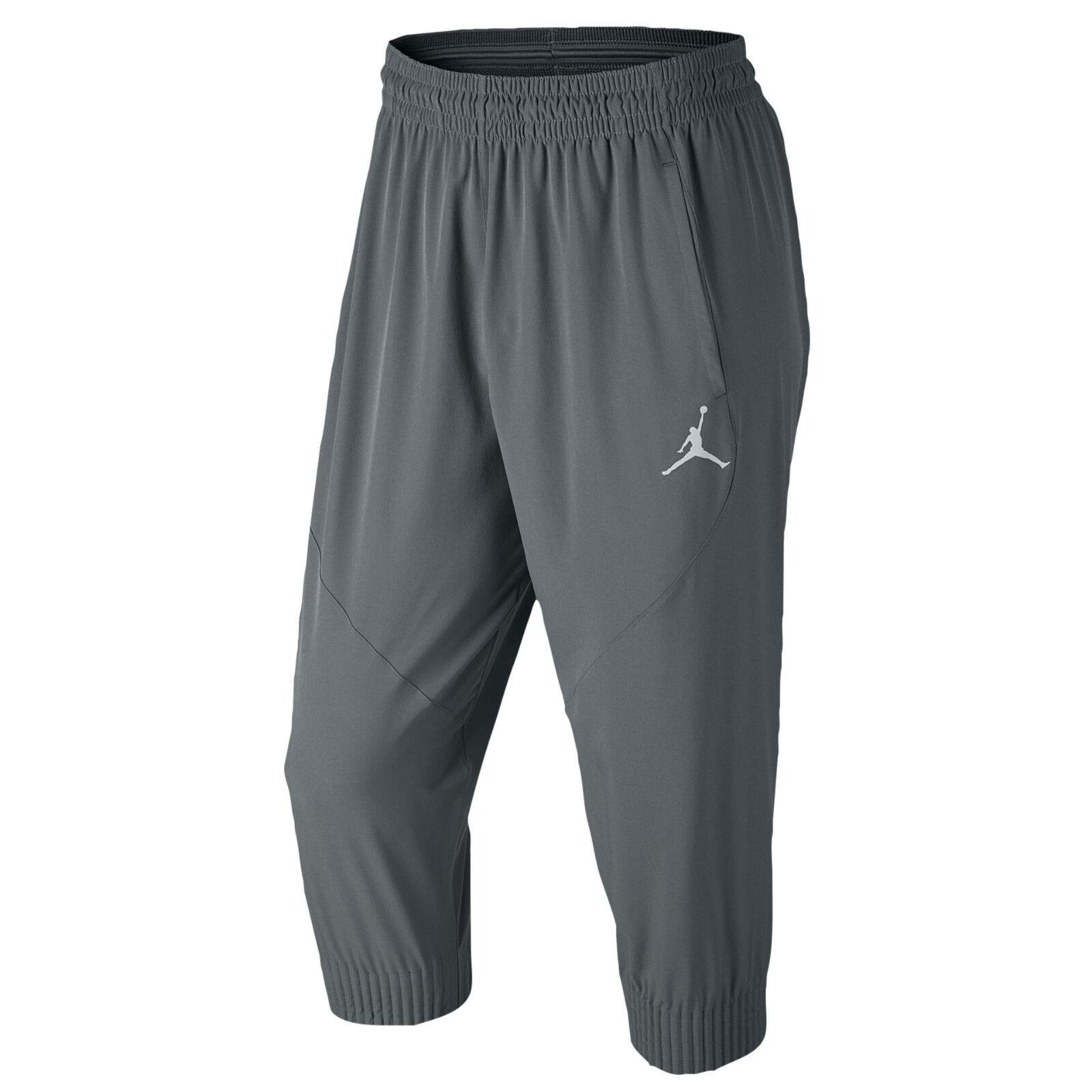 NIKE Jordan Ultimate Flight Pants XL X-Large Cool Grey Jogging Trousers Dri-FIT