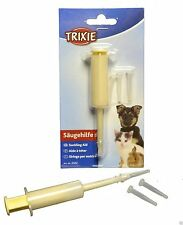 Pet Dog Cat Kitten Puppy Baby Feeding Syringe Suckling Aid Whelping TRIXIE