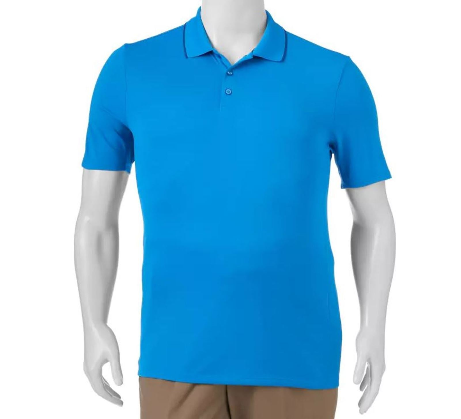 Fila Sport Golf Polo Shirt Mens Xlt Athletic Fit Blue Top X Large