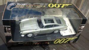 Raro-armas-pistolas-Gadgets-Autoart-1-18-Aston-Martin-DB5-007-James-Bond-Coche-De-Juguete