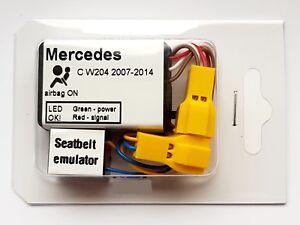 Seat Occupancy Mat Bypass MERCEDES C-CLASS W204 2007-2014