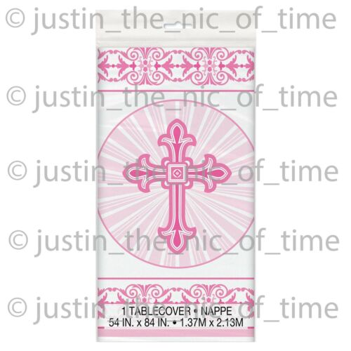 CONFIRMATION PINK Girl Party Tableware Catering Supplies