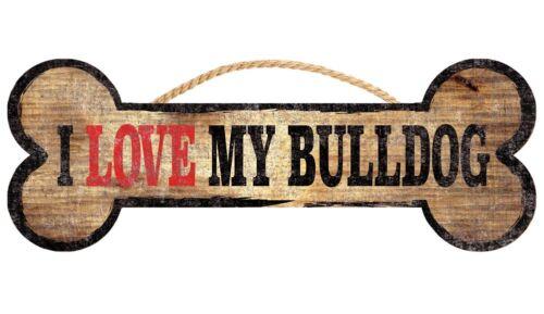 I Love My Bone 3x10 Bulldog Sign