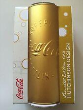 Coca Cola Mcdonalds Glaß 2016 Hutchinson Design **RAR** GOLD **NEU**