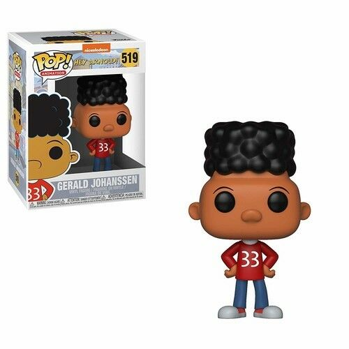 90's Nick - Gerald - Funko Pop! Animation: (2018, Toy NUEVO)
