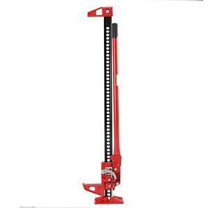 "New 3.5 Ton 48"" Off Road Ratcheting Farm Jack Truck High Lift Bumper Tractor Suv"