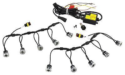 R87 für Smart 451 W451 16142 LED Tagfahrlicht Rund-Design