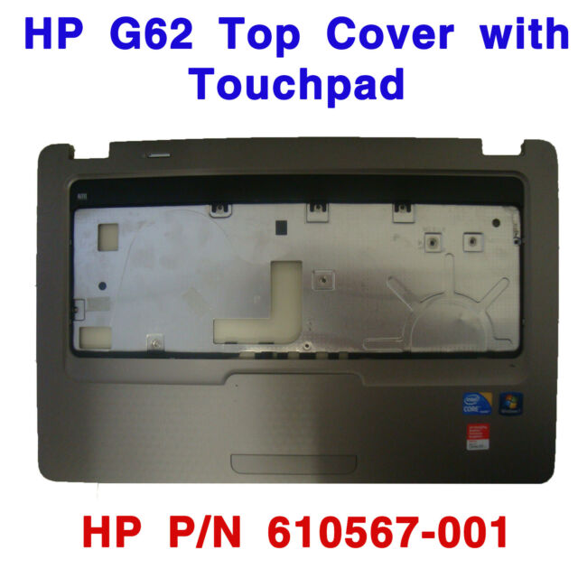HP G62 top cover with touchpad 610567-001