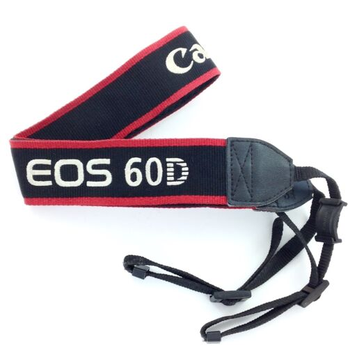 Para Canon EOS 60D Cámara Hombro Cuello Cinturón Correa Larga Vida mzus Calidad