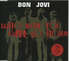 BON JOVI Who says you can't go home 4 TRACK CD   NEW - NOT SEALED  CD2