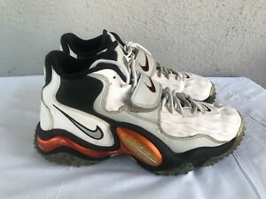 on feet shots of speical offer exclusive range Details about Nike Air Zoom Turf Jet 97 Size US 8 White Black Metallic  Copper 554989-100 B