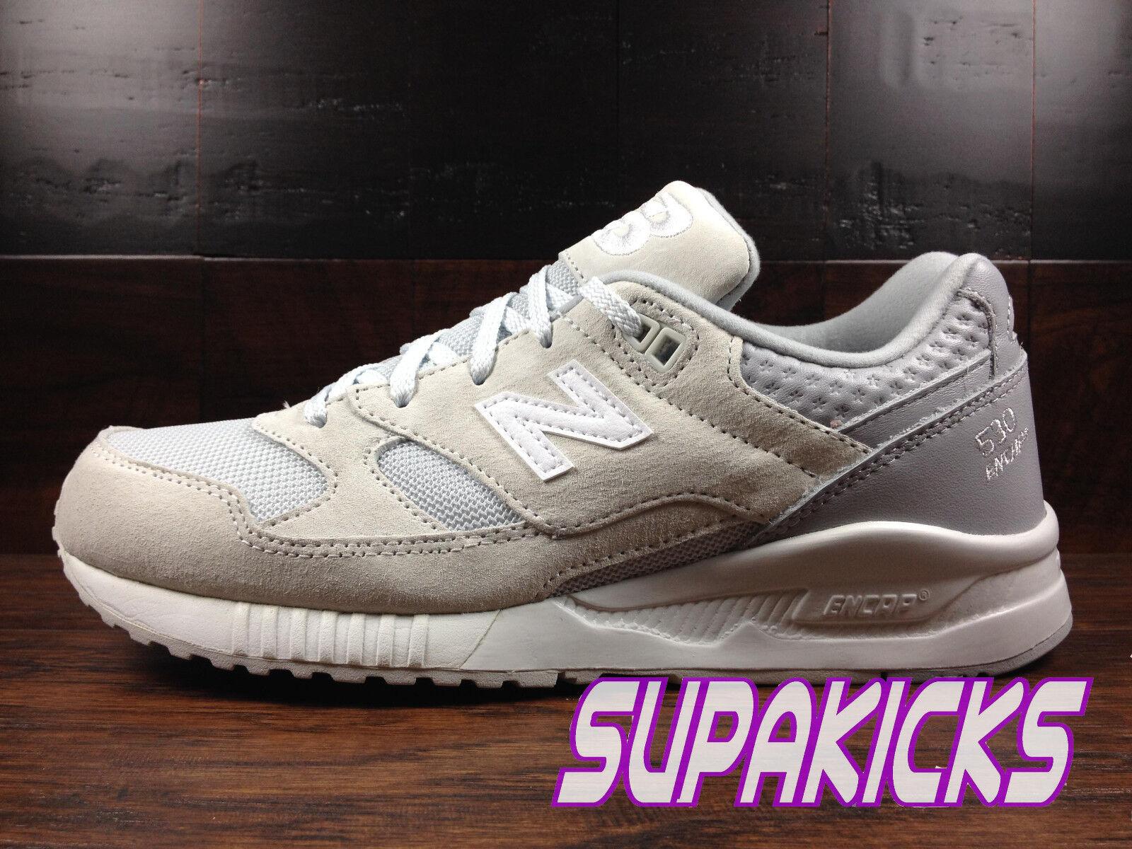 New Balance M530SPD (Light Grey / White) Gray Suede Lifestyle Classic 530 Mens