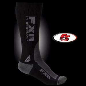 2017 FXR Men's Turbo Athletic Sock 2 Pack Snowmobile Motorcycle Snocorss