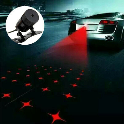Universal Car Tail Laser Fog Light Rear Anti-Collision Safe Signal Warning Lamp