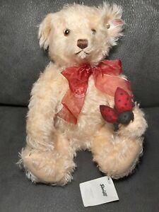 Steiff Nicolas- The Lucky Bear, EAN 681349, 2009 Ltd Ed Jointed Mohair