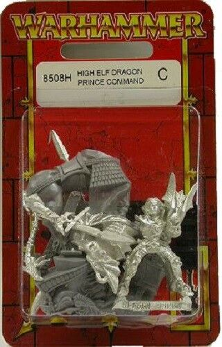 Games Workshop Warhammer High Elf Dragon Princes Champion,Prince Command, & more