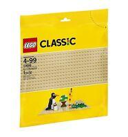 Lego Base 32 X 32 Stud Building Plate 10 X 10 Inch Platform, Sand Tan | 10700