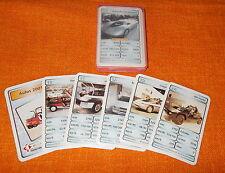 Quartett Autos 2001 - Berliner Spielkarten - Mega Trumph - Kartenspiel