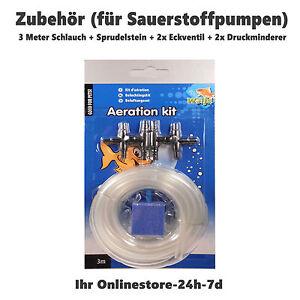 bel ftungsset aquarium schlauch verbinder set sauerstoff membranpumpe sprudler ebay. Black Bedroom Furniture Sets. Home Design Ideas