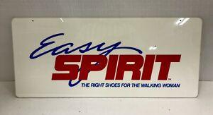 "Vintage 1970s Easy Spirit Women Shoes Plastic Sign Display Shoe Store 22"" X 9.5"""