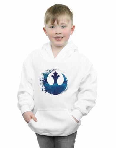 Star Wars The Rise Of Skywalker Resistance Symbol Wave Boys Hoodie