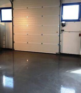 10 kg Steingrau RAL 7030 Bodenbeschichtung Garage-Beton-Boden-belag ...