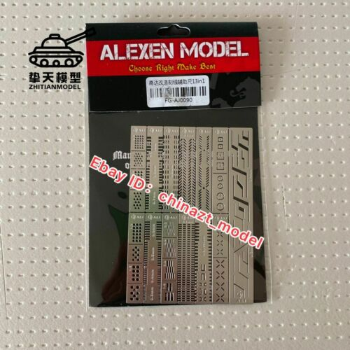 Alexen Model Accessory Scriber Craft Tools Scribe Line Guild Board 13 PCs AJ0090