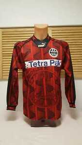 Eintracht-frankfurt-camiseta-1995-96-s-puma-Tetra-Pak-camiseta-Jersey-Triko-maglia