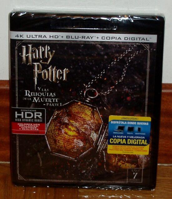 HARRY POTTER Y LAS RELIQUIAS DE LA MUERTE 1 PARTE 4K ULTRA HD+BLU-RAY NUEVO R2
