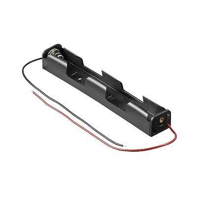 """_ Batteriehalter mit Anschlusskabel """"LANG"""" 2x AA / 2x Mignon, Batteriefach"""