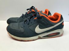 nike air max coliseum racer blue orange white denim 555423 401 mens rh ebay com