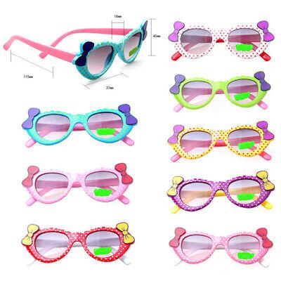 Children Sunglasses Kids Girls Designer Soft Plastic Butterfly Glasses Goggles