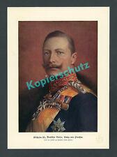 Hanns Fechner Kaiser Wilhelm II. Uniform Orden Pour le merite Adel Preussen 1895