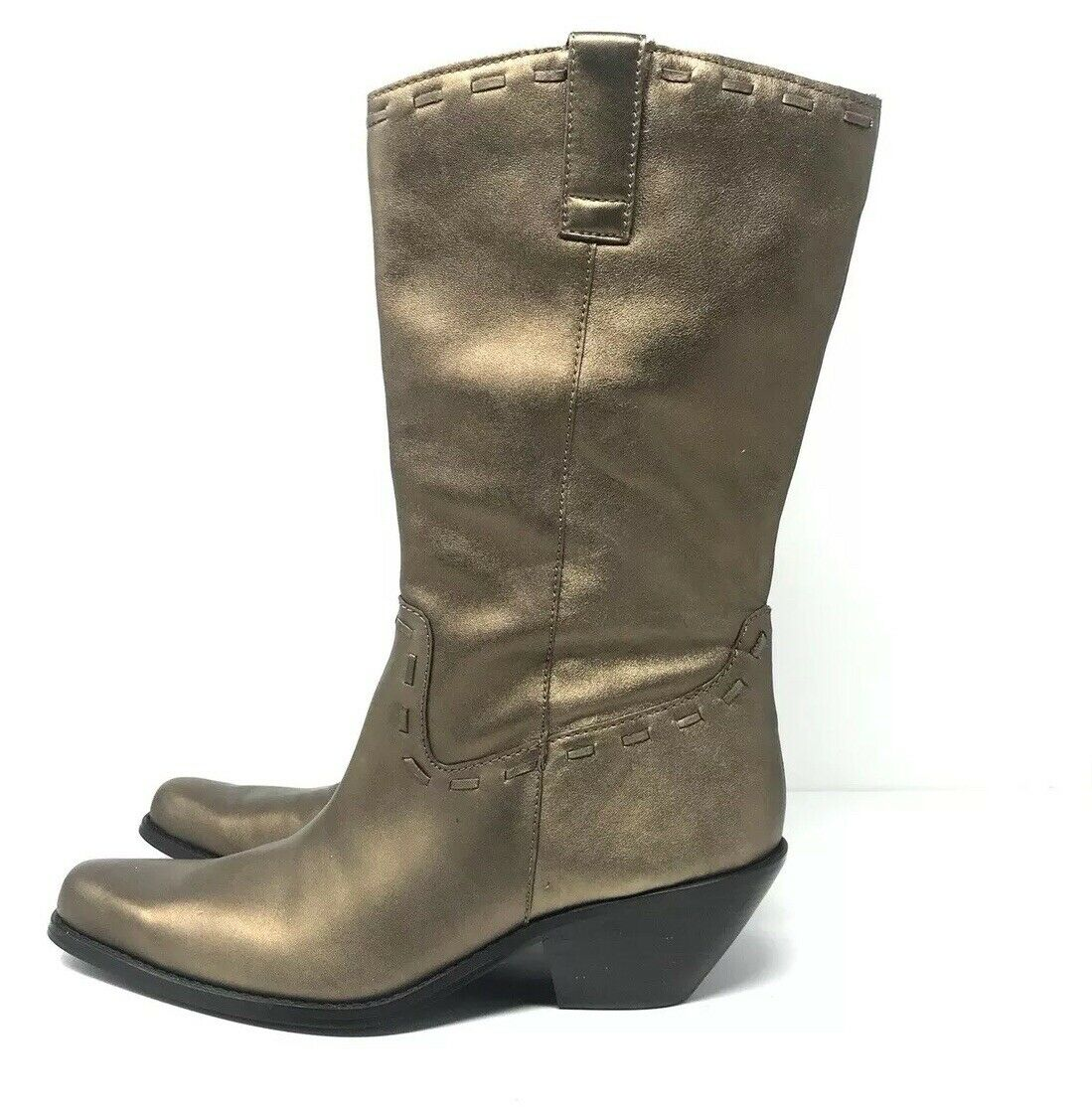 Coldwater Creek Leather Western Boots Size 9.5