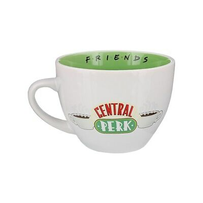 Friends Central Perk Coffee Cup White Mug 12.8x9.5cm