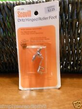DRITZ SCOVILL HINGED ROLLER FOOT FOR HIGH SHANK SEWING MACHINES NECCHI ECT