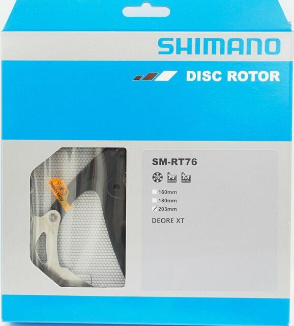 Shimano SLX SM-RT76 Disc Brake Rotor 160mm 180mm 203mm 6 bolt
