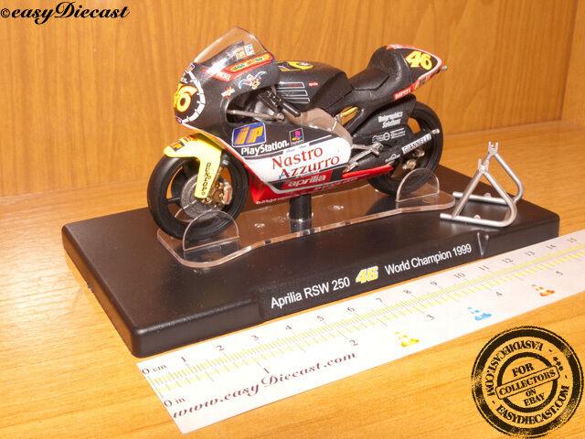 APRILIA RSW-250 1/18 VALENTINO ROSSI W.CHAMPION 1999#46