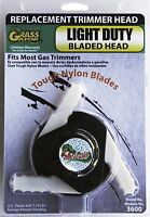 Grass Gator 3600 Weed I Light Duty Bladed Replacement Trimmer Head , New, Free S