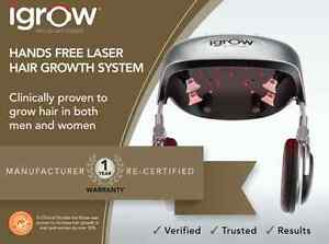 Igrow By Apira Science Hands Free Hair Growth Laser System