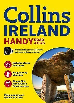 Collins Road Atlas Ireland New Touring Edition by Collins (2014, Paperback,...