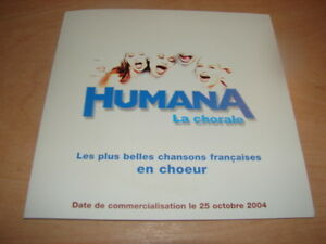 HUMANA-PRESS-PACK-PLUS-BELLES-CHANSONS-FRANCESAS