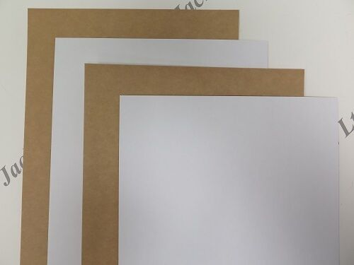 20 x A4 White One Sided Kraft Card 480gsm for Cardmaking /& Crafting AM299