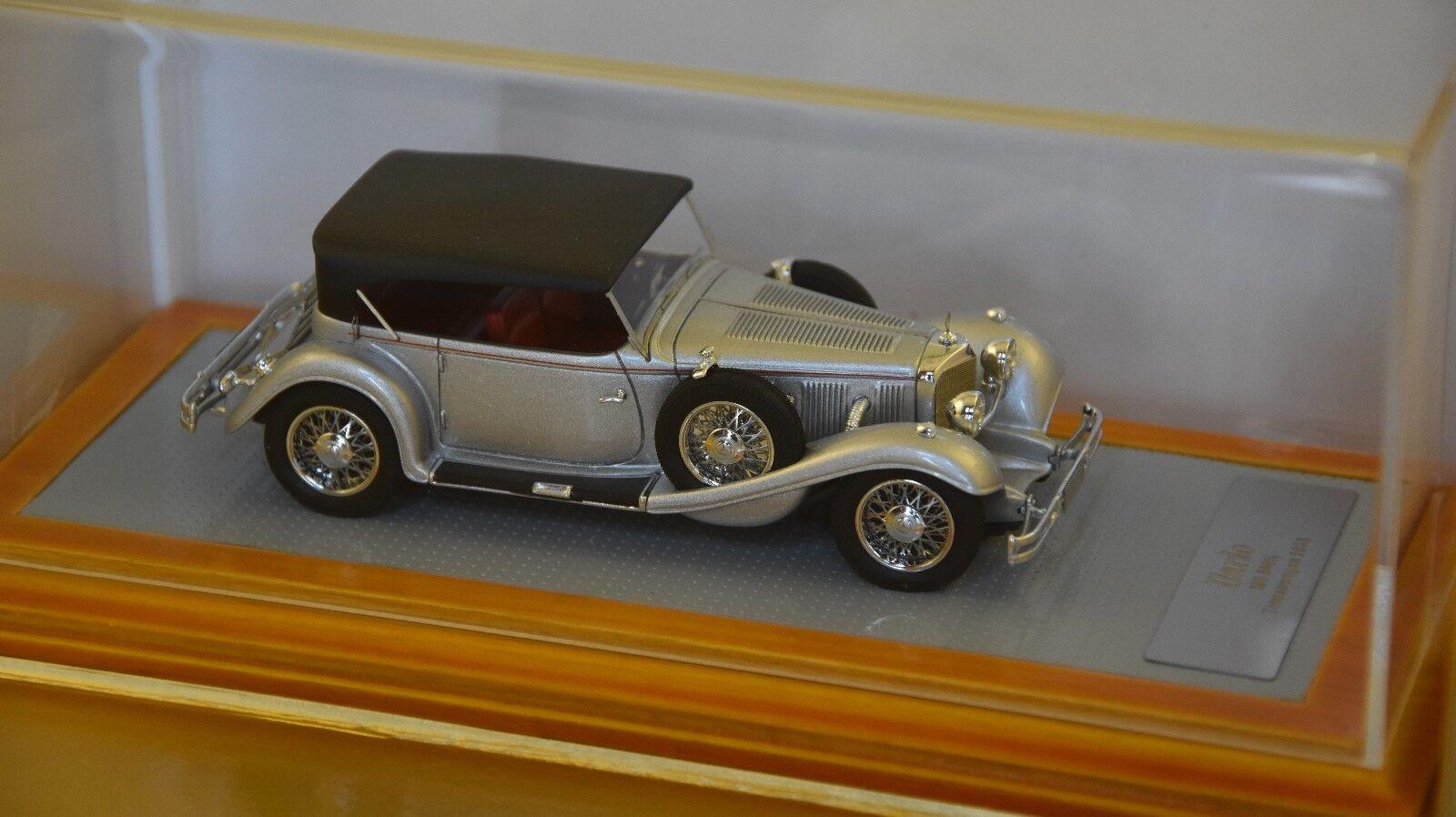 ILARIO - - - Mercedes Benz 500K Tourenwagen 1936 sn113696 argent 1936 1 43 f045f2