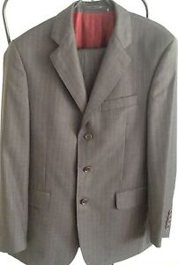 Austin Reed Westminster Grey Pin Stripe Suit Size 40r Ebay