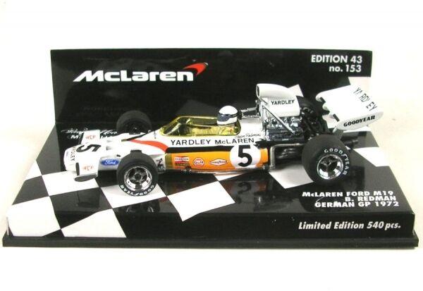 Mclaren ford m19 nº 5 German gp 1972 (Brian rossoman)
