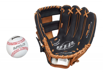 "Di Carattere Dolce Franklin Teeball Fielding Glove - Rtp Performance Mit Ball, 9,5"", Baseball,"