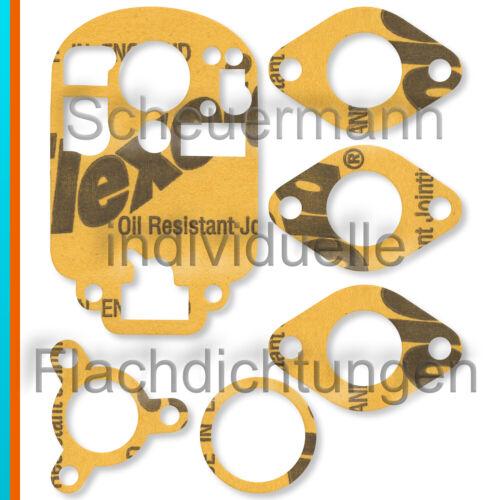 Vergaser-Dichtsatz für Weber 22 DRA 22DRS Fiat Topolino NSU