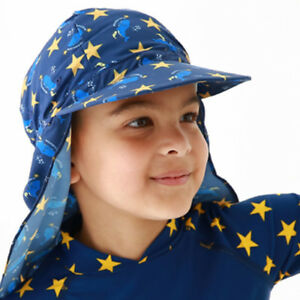 Sun Hat Summer Child Beach Cap Foldable Bucket Hat Sunproof Ear Flap ... b10fecec76f